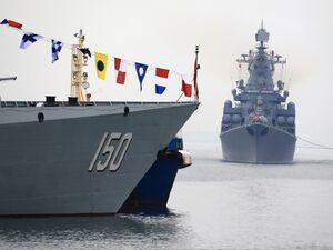 فیلم/ رزمایش نظامی ایران روسیه در دریای خزر