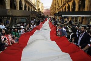 عکس/ ثبت رکورد جالب در لبنان