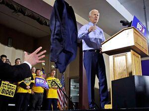 عکس/ نخستین گردهمایی انتخاباتی «جو بایدن»