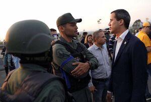 عکس/ کودتای کوچک در ونزوئلا