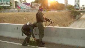 فیلم/ تلاش برای کودتا در ونزوئلا