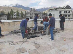 وقت کشی در تخریب ویلای دختر وزیر سابق  +عکس