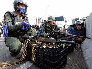 عکس/ شکست کودتاچیان در ونزوئلا