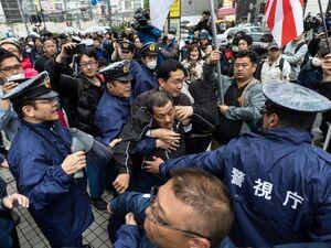 تظاهرات مخالفان پادشاهی