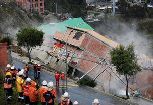 عکس/ رانش ویرانگر زمین در بولیوی