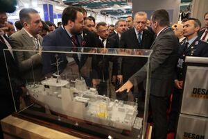 حضور اردوغان در نمایشگاه بین المللی صنایع دفاعی
