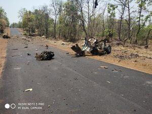 عکس/ انفجار مرگبار تروریستی در هند