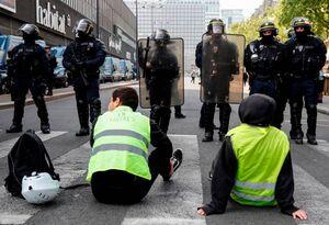 تظاهرات روز کارگر در فرانسه به خشونت کشیده شد