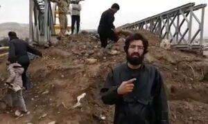 برای سلامتی این جهادگر دعا کنید! +فیلم