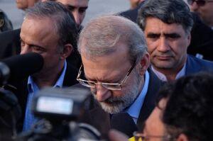 لاریجانی: حضور آمریکا در منطقه باعث تقویت جریان مقاومت شد