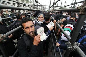 زائران بدون ویزا به مرز مهران مراجعه نکنند