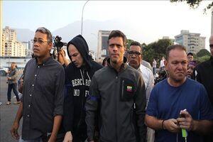 یکی از رهبران اپوزیسیون ونزوئلا به شیلی پناه بُرد