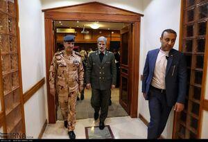 عکس/ دیدار فرماندهان عالی رتبه عراق با امیر حاتمی
