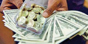 دلار اندکی کاهش و سکه تقویت شد