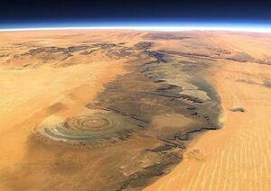 عکس/ چشم آفریقا در موریتانی!