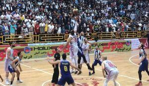 هلهله در آبادان با اولین قهرمانی تیم بسکتبال نفت