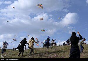 عکس/ جشنواره پرواز بادبادکها در قزوین