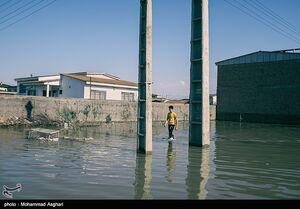 سیل و زندگی کودکان و خانواده ها در آق قلا