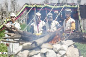 عکس/ مراسم عروسی در ایل قشقایی