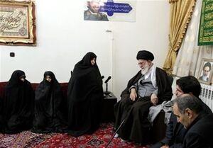 مادر شهیدان طهرانیمقدم به دیدار فرزندانش رفت