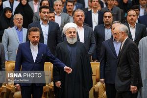 عکس/ مراسم بزرگداشت مقام معلم با حضور روحانی