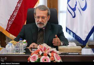 توضیحات لاریجانی درباره شکست توطئه نفتی آمریکا علیه ایران