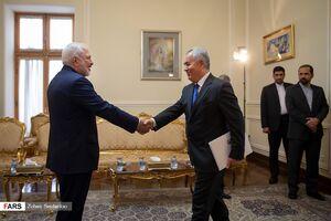 دیدار سفیر تاجیکستان با ظریف