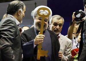 فیلم/ روحانی:قولهای انتخاباتی برای شرایط صلح بود