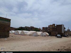 شهر پلدختر۳۳ روز پس از سیل بهروایت تصویر