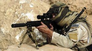 فیلم/ تار و مار کردن مزدوران آلسعود توسط تکتیراندازان یمن