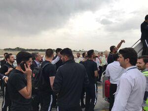 کاروان پرسپولیس راهی ازبکستان شد +عکس