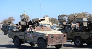 تحولات پایتخت لیبی در یک ماه گذشته/ مناطق تحت کنترل دولت وفاق ملی و نیروهای ژنرال حفتر به تفکیک مناطق و محورهای درگیری + نقشه میدانی و عکس