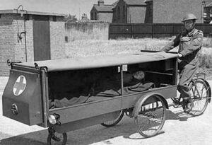 عکس/ اولین آمبولانس تاریخ!