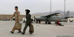 آمریکا آموزش خلبان افغان را متوقف کرد