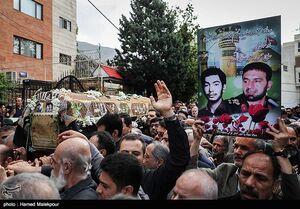 فیلم/ تشییع پیکر مادر شهیدان طهرانی مقدم