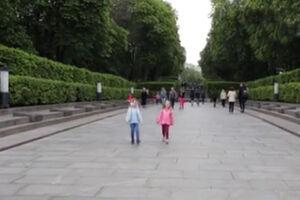 فیلم/ پارک یادبود کشته شدگان جنگ جهانی