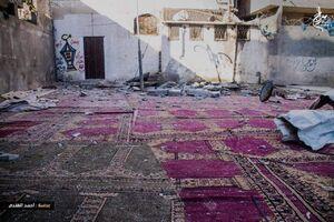 عکس/ حمله رژیم صهیونیستی به یک مسجد