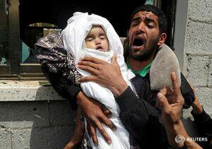 صبا ابوعراد کودک فلسطینی