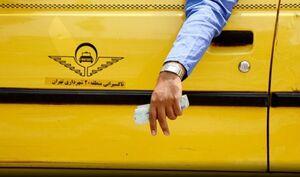 عکس/ راننده تاکسی با معرفت قزوینی!