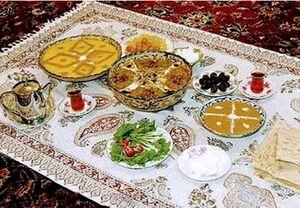 برنامه جامع و کامل غذایی برای 30 روز ماه رمضان