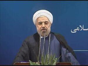 فیلم/ آمار روحانی از نرخ بیکاری در کشور