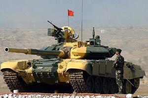 تانک تی-90 ارتش هند