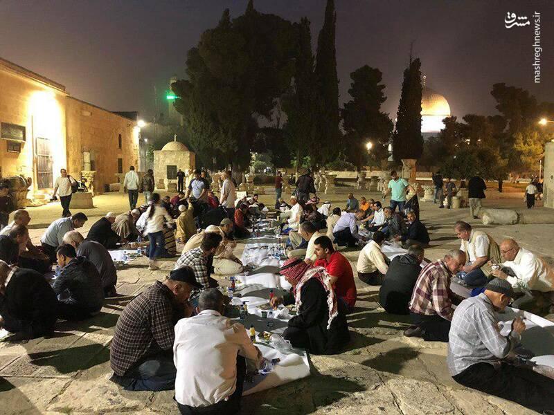 اولین روز رمضان در غزه