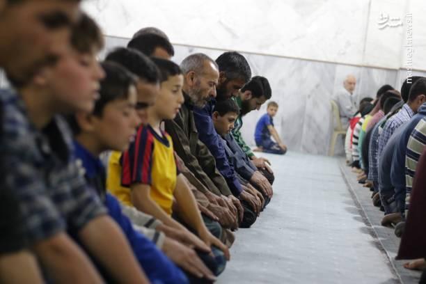 روز اول رمضان در سوریه