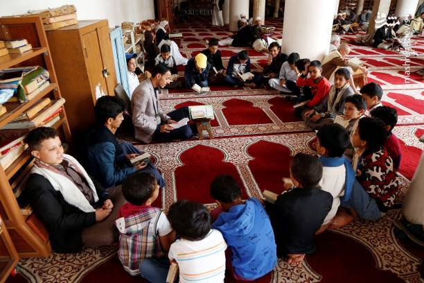 اولین روز ماه مبارک رمضان یمن