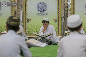 عکس/ محفل قرآنی نوجوانان در حرم علوی