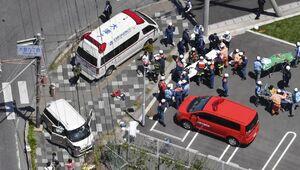 عکس/ تصادف مرگبار در ژاپن