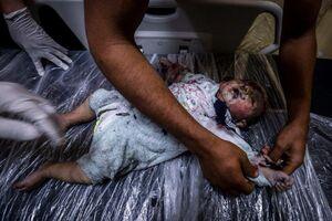 اسرائیل اینگونه از خودش دفاع میکند +عکس