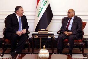 دیدار پمپئو با نخست وزیر عراق