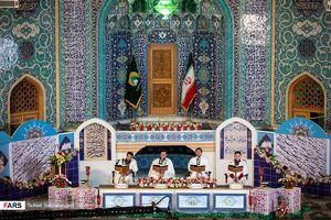 عکس/ ترتیلخوانی در حرم حضرت سیدالکریم(ع)